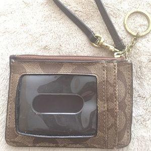 Coach Small wristlet/wallet